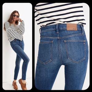 Madewell High-Riser Skinny Jeans Size 26